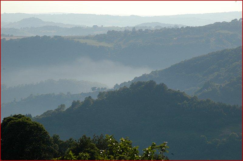 Uitzicht op de Aveyron.